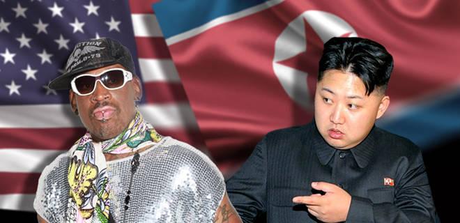 Resultado de imagen para dennis rodman and kim jong un